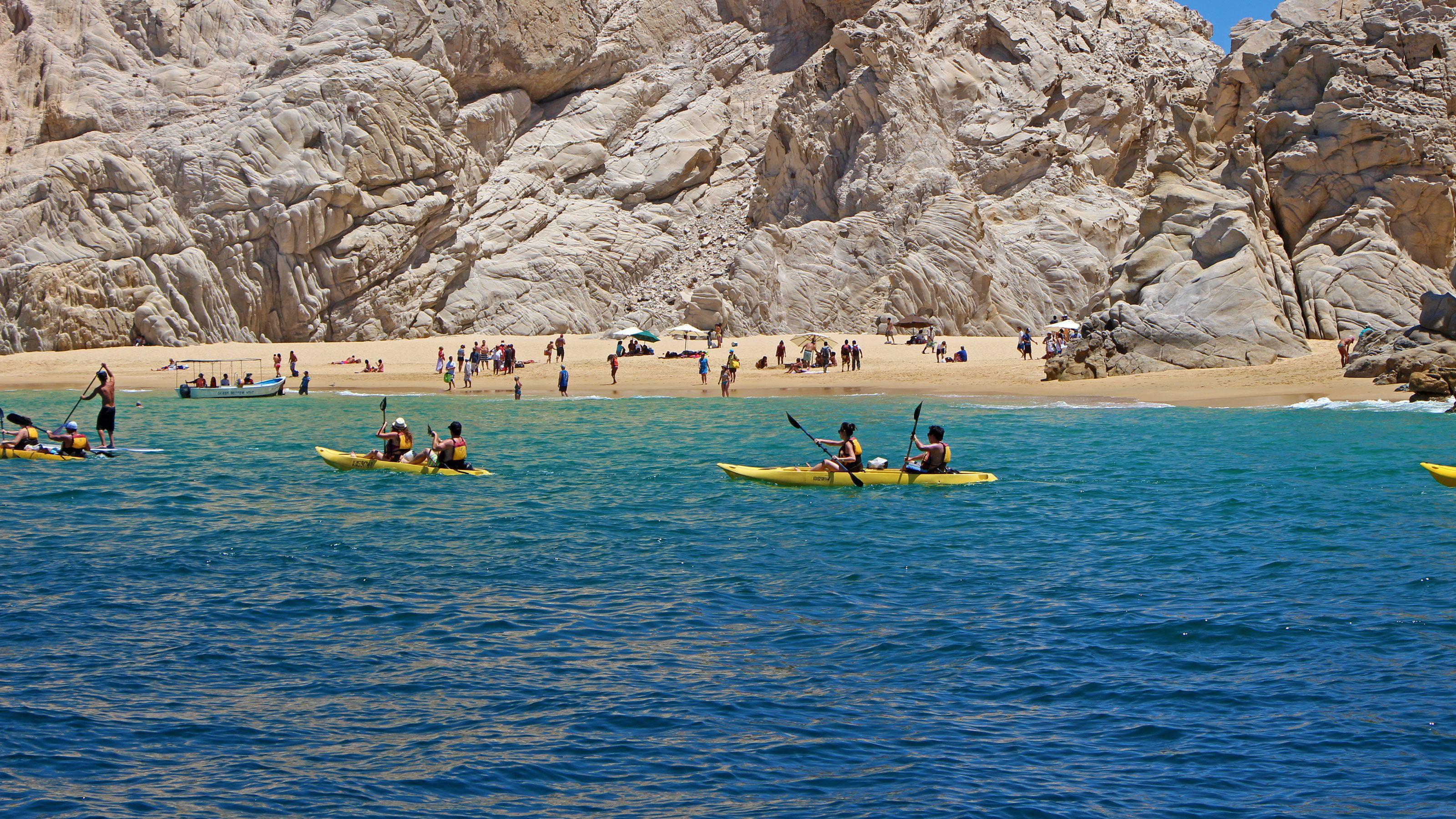 Kayaking at Lands End Mexico