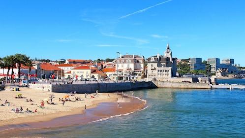 Cascais beach in Lisbon