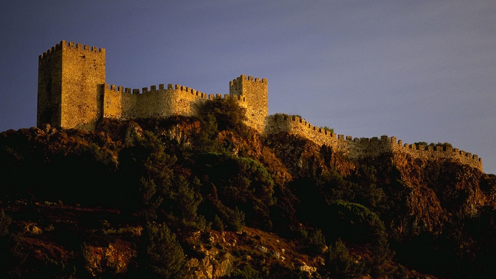 Show item 4 of 5. Rampart of Obidos Castle
