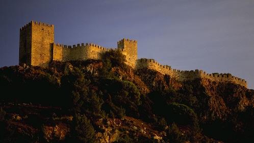 Rampart of Obidos Castle