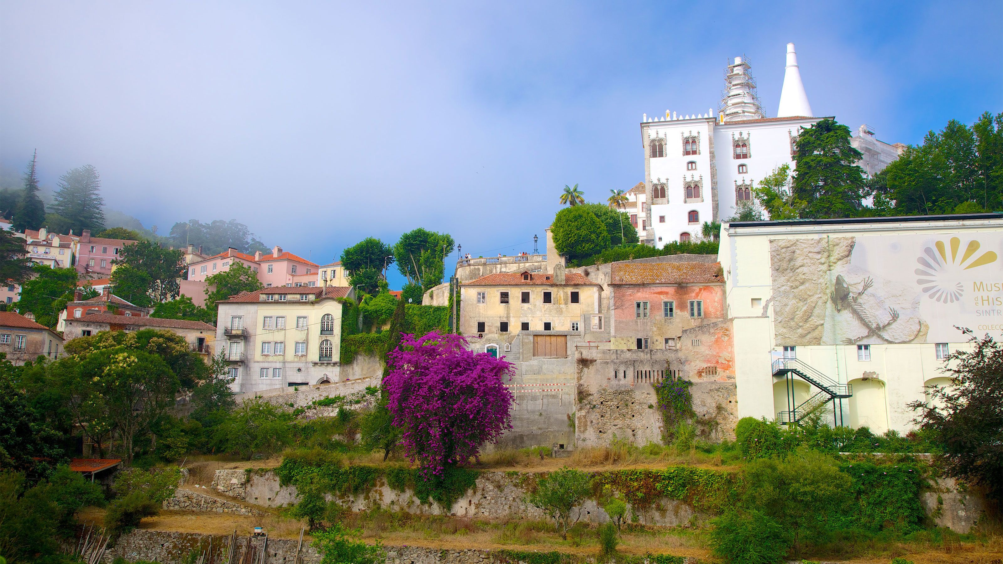 Old Town district in Sintra