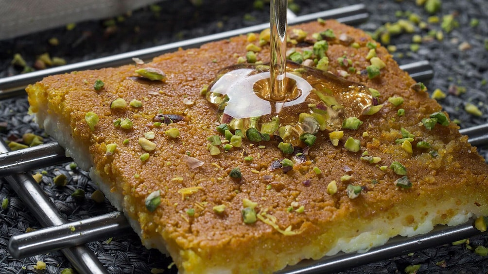 Show item 3 of 6. Start your day with Falafel & Finish it with Kunafa