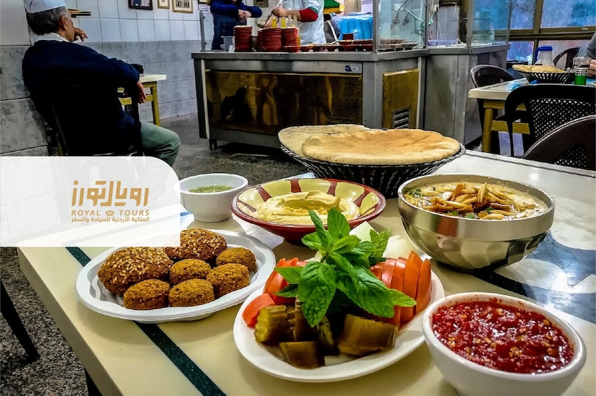 Show item 1 of 6. Start your day with Falafel & Finish it with Kunafa