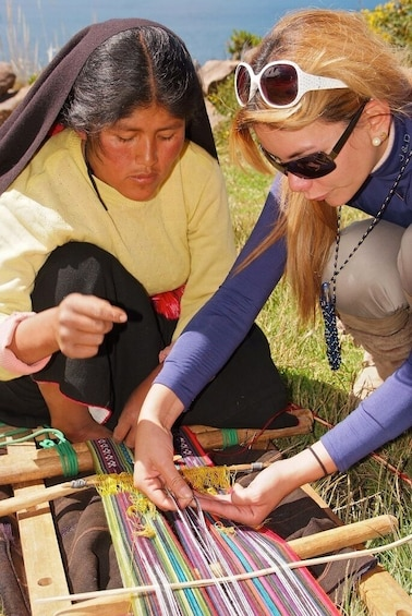 Show item 2 of 10. 2-Day Tour Lake Titicaca: Uros, Amantani & Taquile