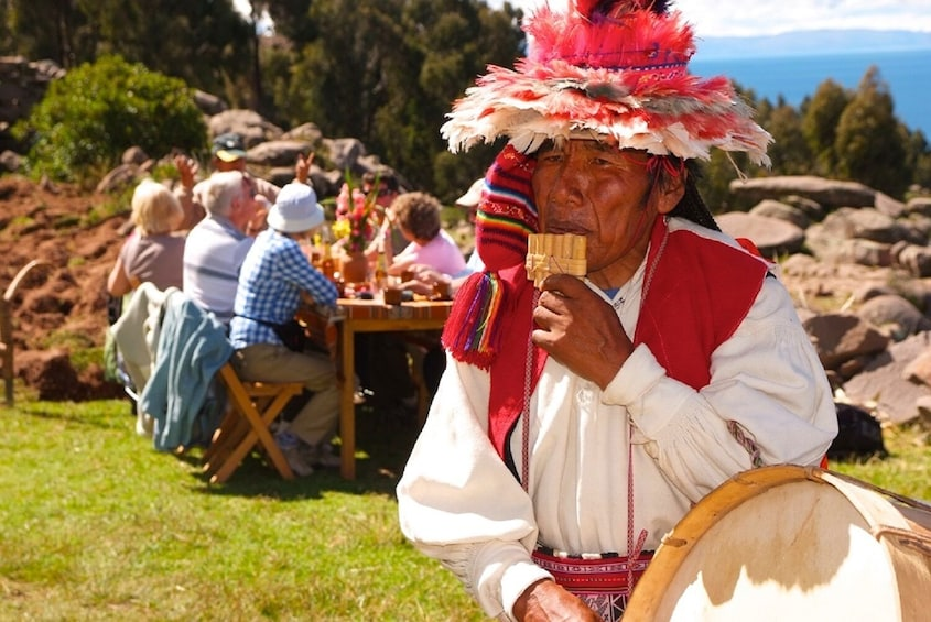 Show item 5 of 10. 2-Day Tour Lake Titicaca: Uros, Amantani & Taquile