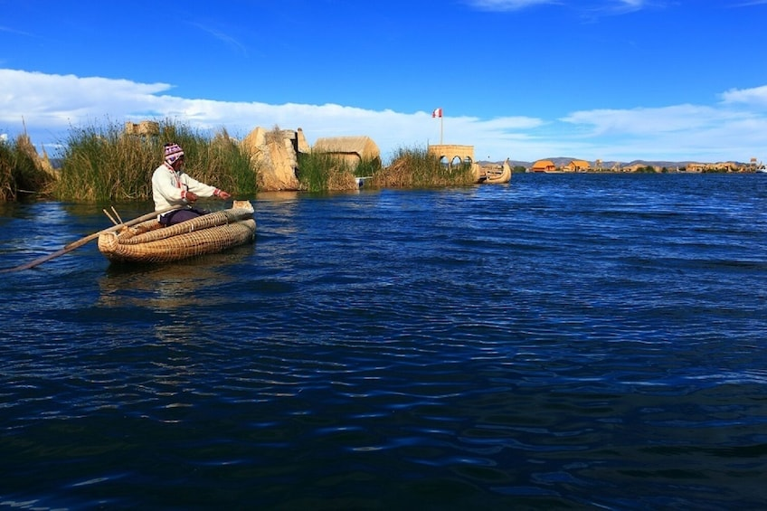 Show item 4 of 10. 2-Day Tour Lake Titicaca: Uros, Amantani & Taquile