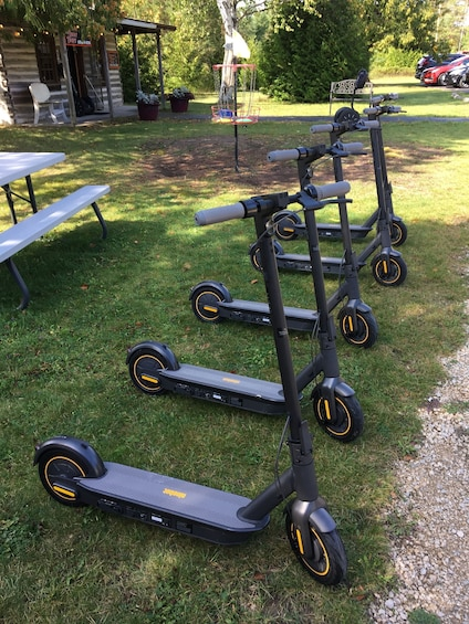 Show item 1 of 2. Electric Scooter Glide – Green Bay