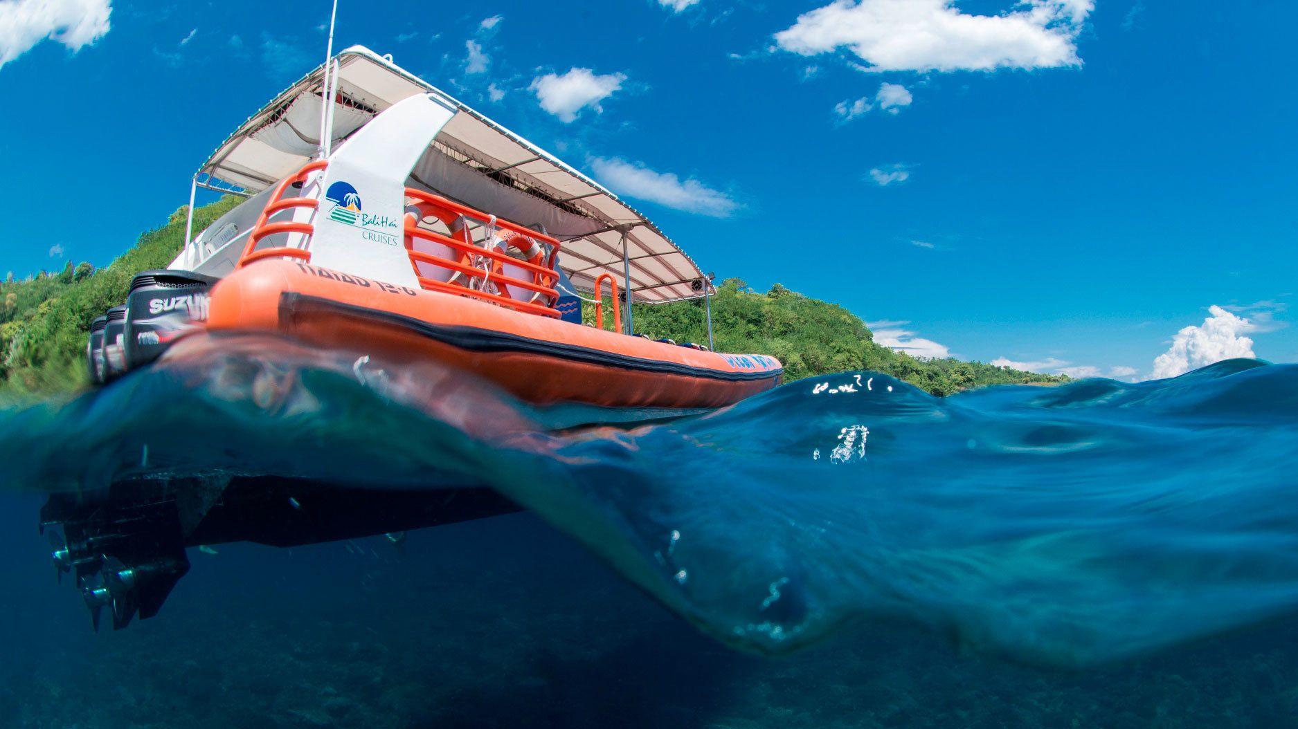 3 Islands High-Speed Ocean Rafting Cruise