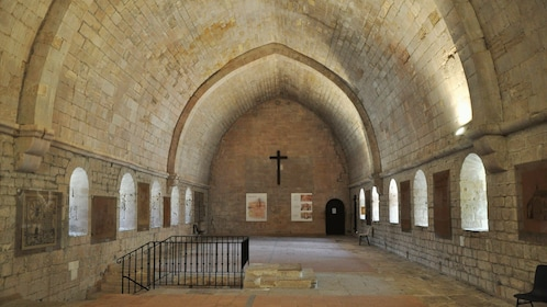 upper level of ancient Abbey Senanque in Marseille