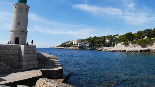 Cassis lighthouse near Bandol in Maeseille