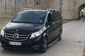 Transfer up to 7 passengers from the Port of Séte to Montpellier Center