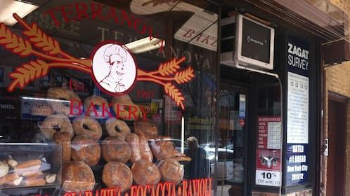 Italian bakery in New York
