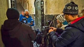 Spaziergang und Fototour in kleiner Gruppe durch Stockholm bei Nacht