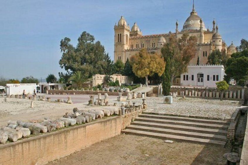 Private day tour Sidi Bousaid, Carthage and Hammamet departing from sousse