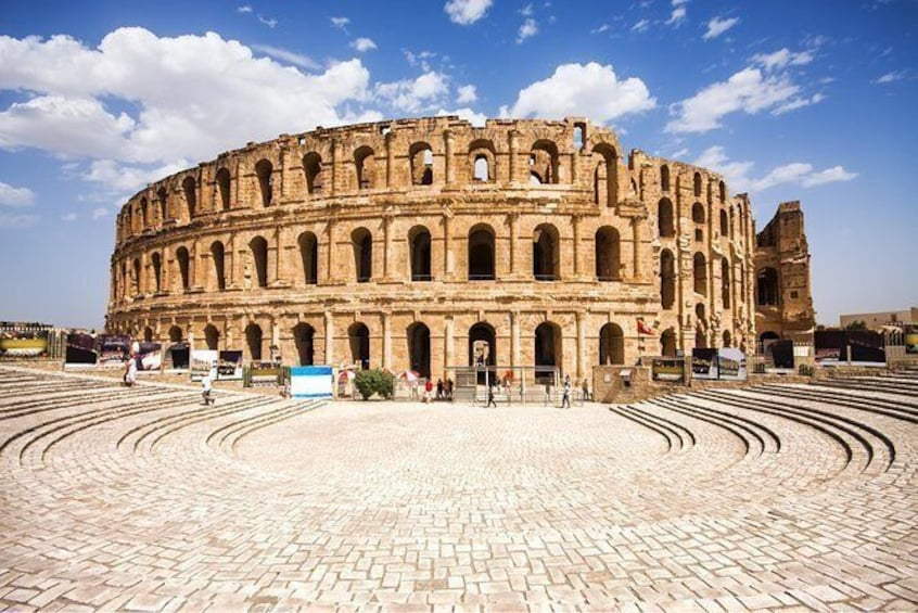 Half-day excursion from Sousse to the amphitheater of El Jem