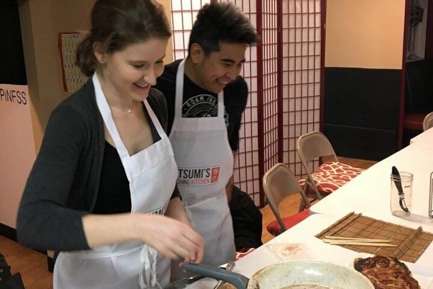 Japanese Street Food Class