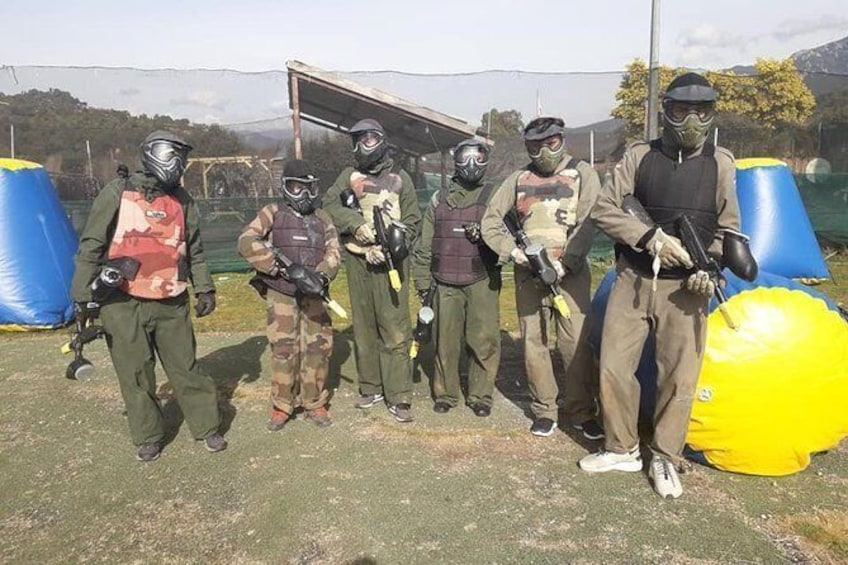 PAINTBALL IN CORSE. Leisure activity for all the family and groups.