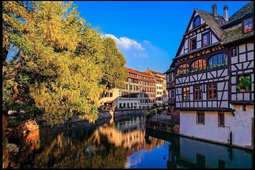 Show item 3 of 16. Day trip from Baden-Baden to Alsace: Colmar, Riquewihr, Alsace Wine Route