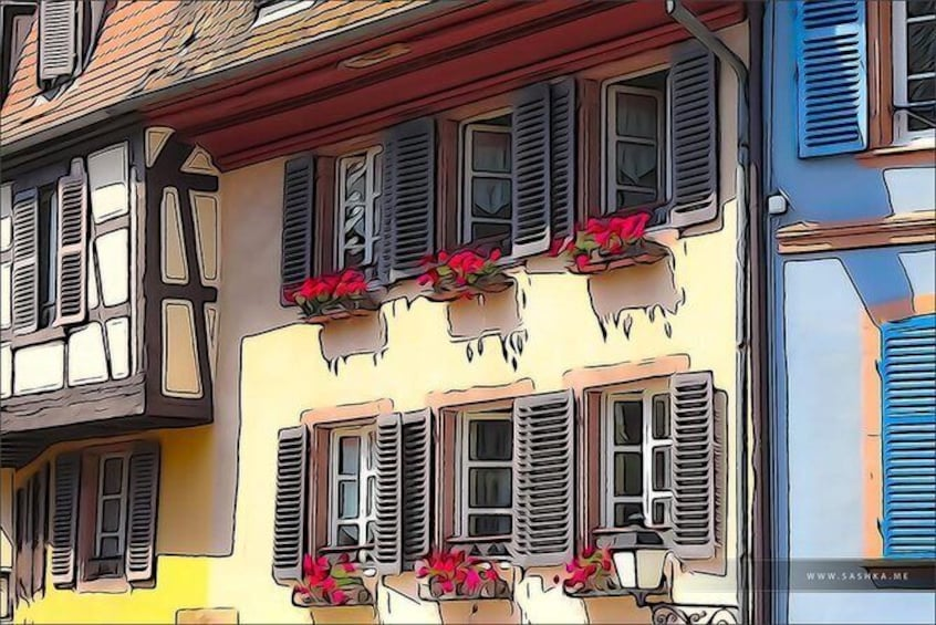 Show item 5 of 16. Day trip from Baden-Baden to Alsace: Colmar, Riquewihr, Alsace Wine Route