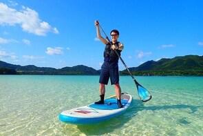 [Ishigaki] SUP/Canoe tour at Kabira Bay+ Snorkeling tour at Ishigaki-Blue C...