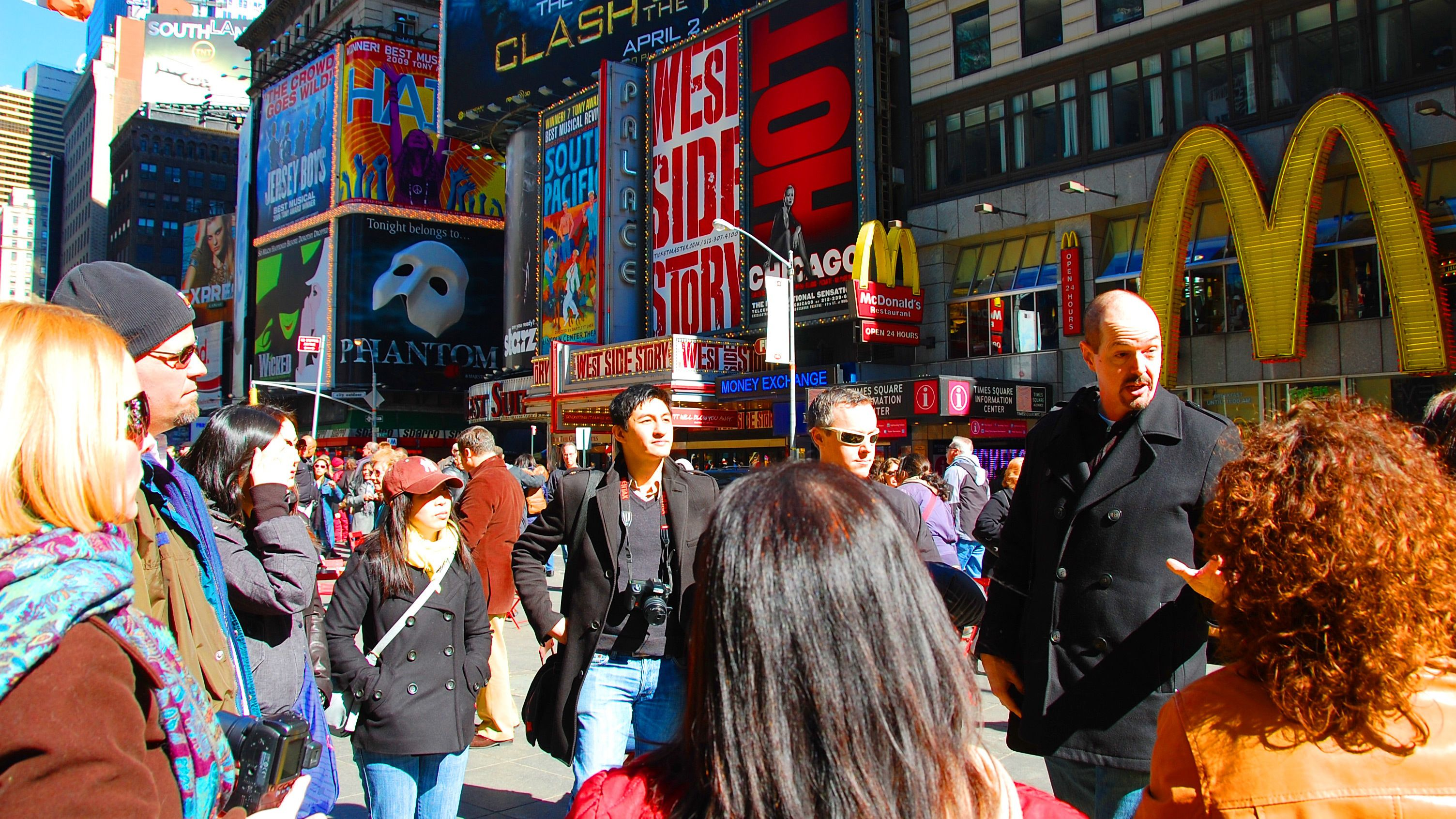 Tour of Times Square