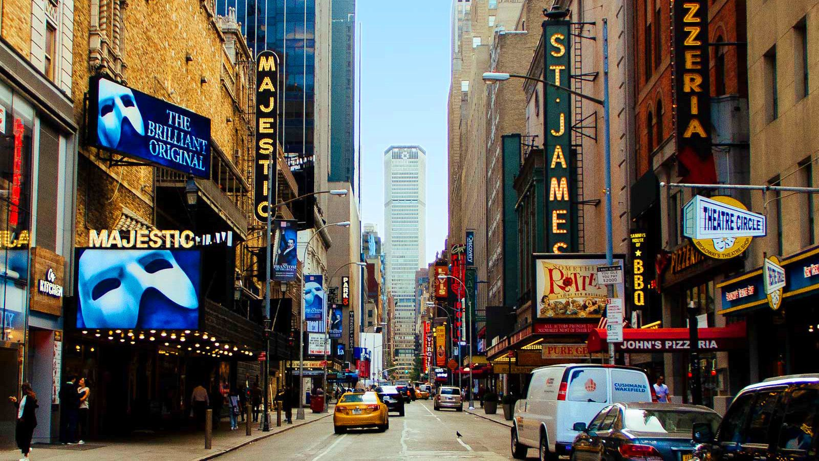 Theaters on Broadway