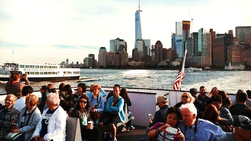 Group of Ferry to Ellis island