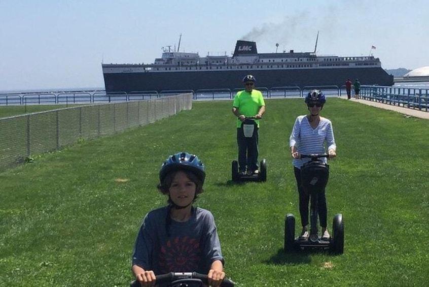 Show item 1 of 7. Manitowoc Private Segway Tour
