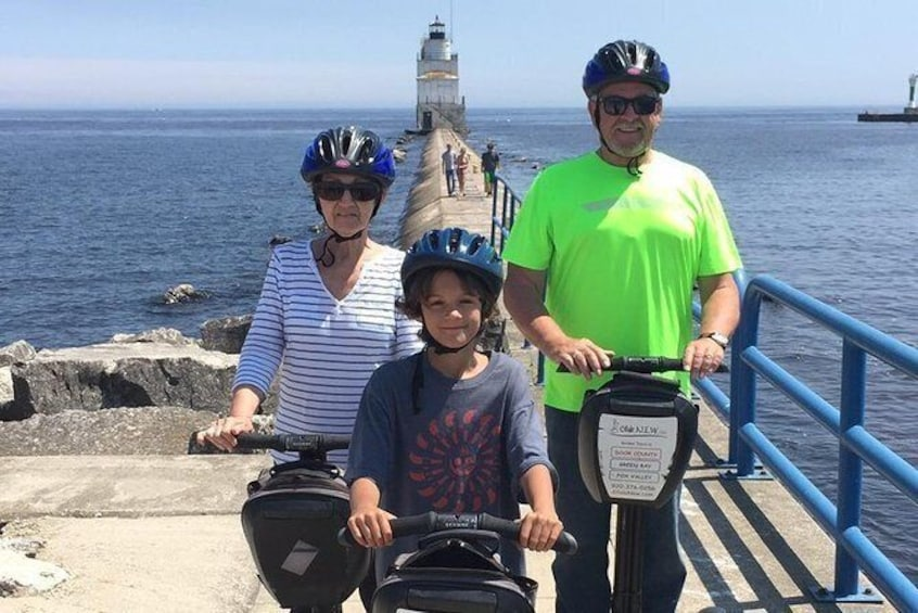 Show item 5 of 7. Manitowoc Private Segway Tour