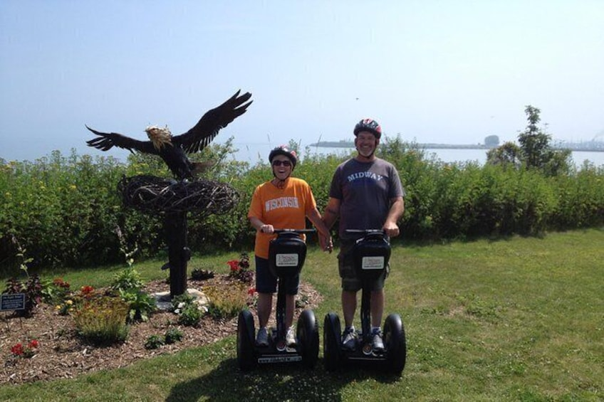 Show item 2 of 7. Manitowoc Private Segway Tour
