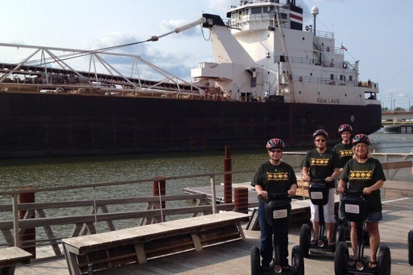 Show item 4 of 7. Manitowoc Private Segway Tour