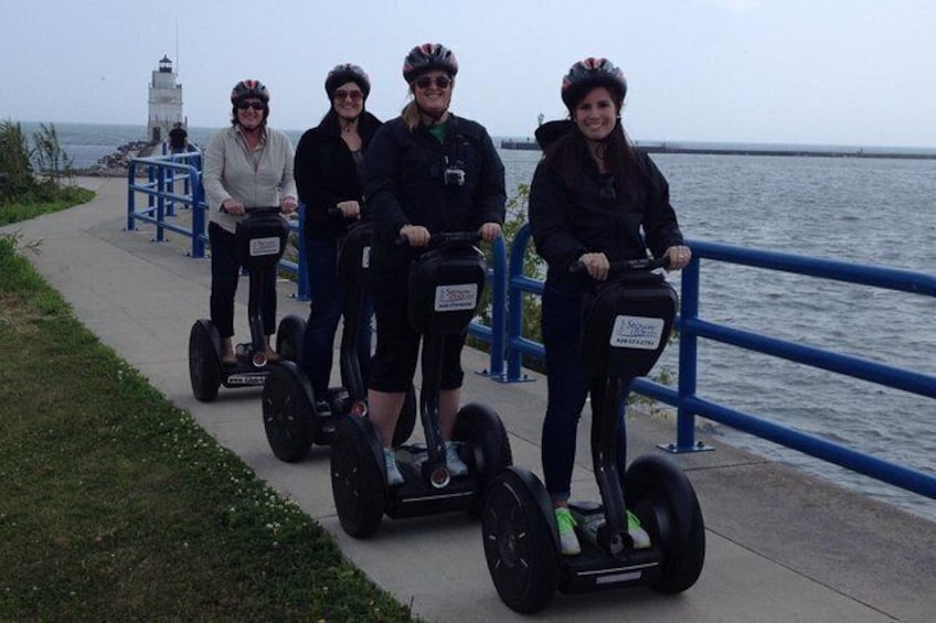 Show item 3 of 7. Manitowoc Private Segway Tour
