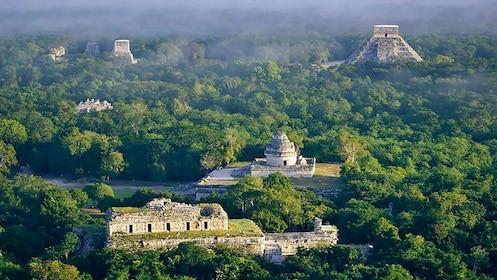 Ruins of Chichen Itza in Mexico
