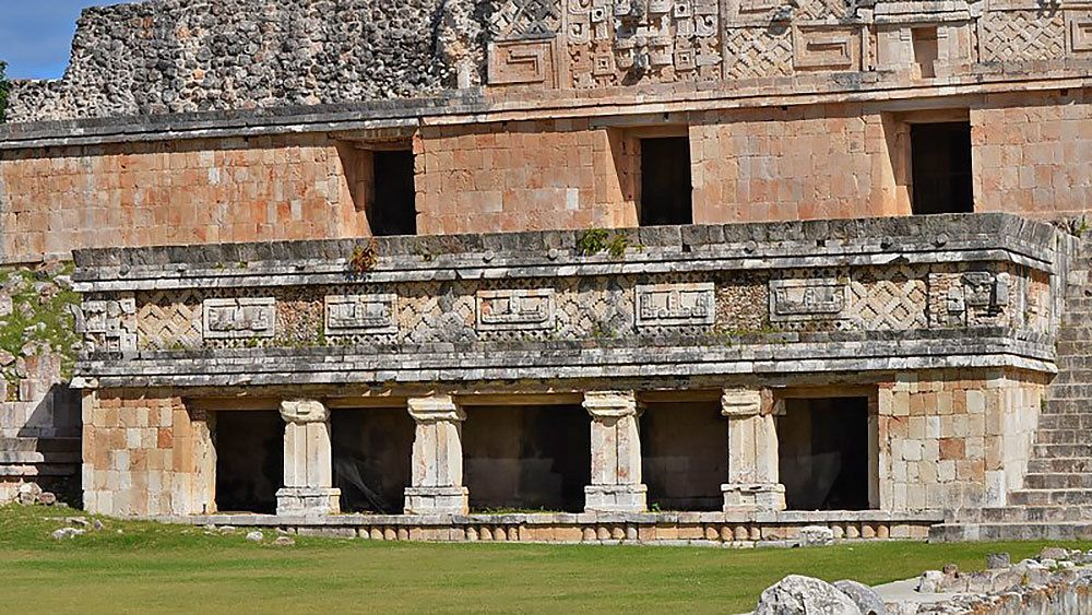 Uxmal in Mexico