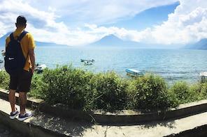 Crucero del lago Atitlán y tour de día completo en el pueblo de Santiago