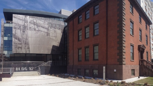 Historical building in the Brooklyn Navy Yard
