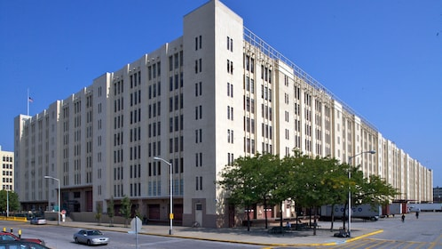 Front of Brooklyn Army Terminal