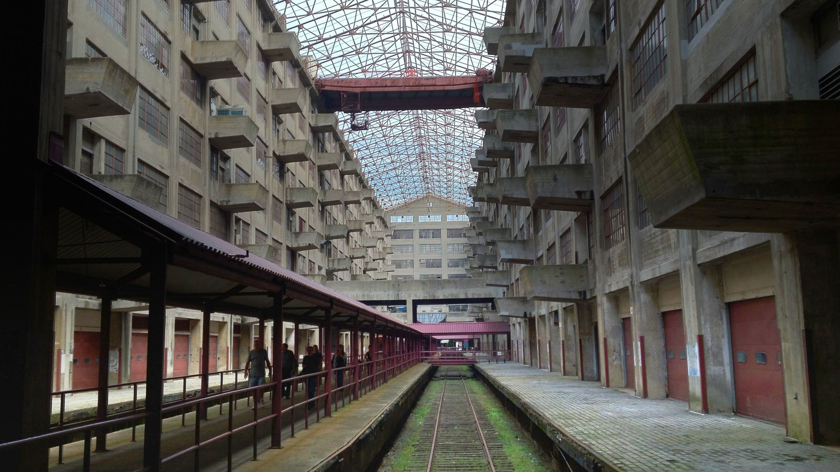 Interior of Brooklyn Army Terminal