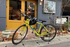 Udon shop around Konpira on a cross bike