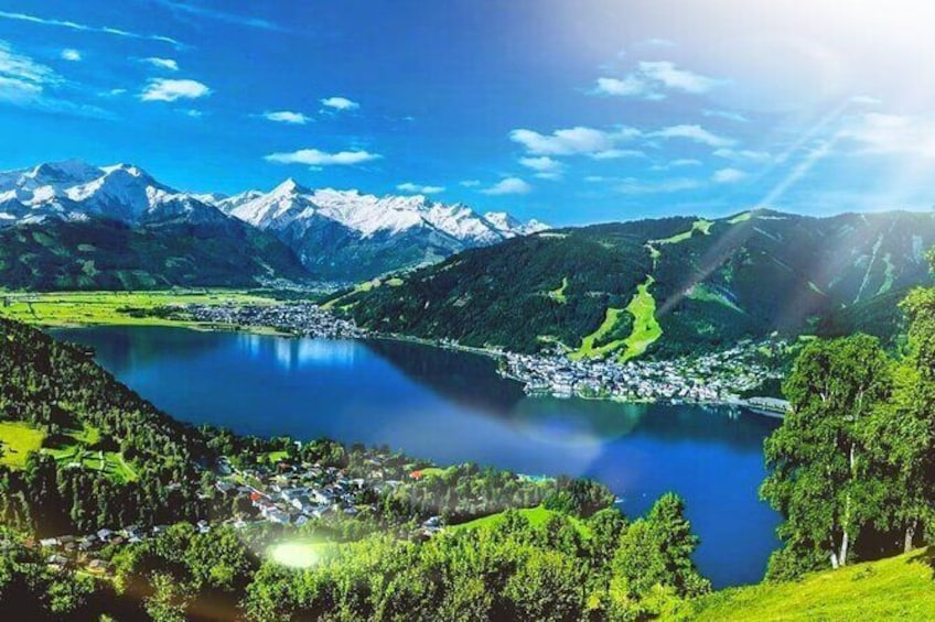 Show item 1 of 9. Private tour to Zell am See & fun in Austria's glacier snow from Munich