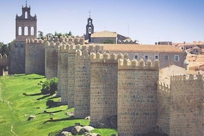 Avila: Legend and History with drop off in Madrid