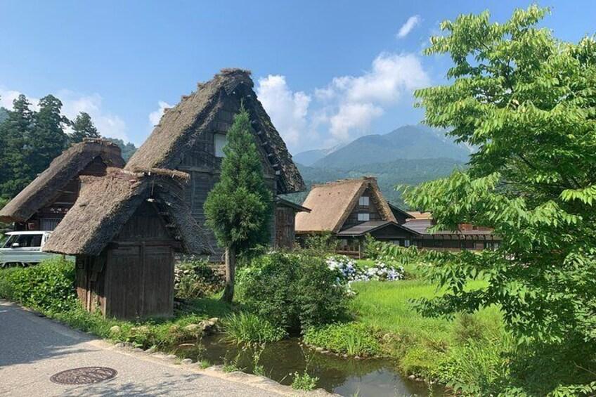 Shirakawa-go Half day tour (UNESCO World Heritage near Takayama)
