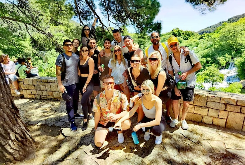 Krka National Park Tour with a local guide and wine tasting