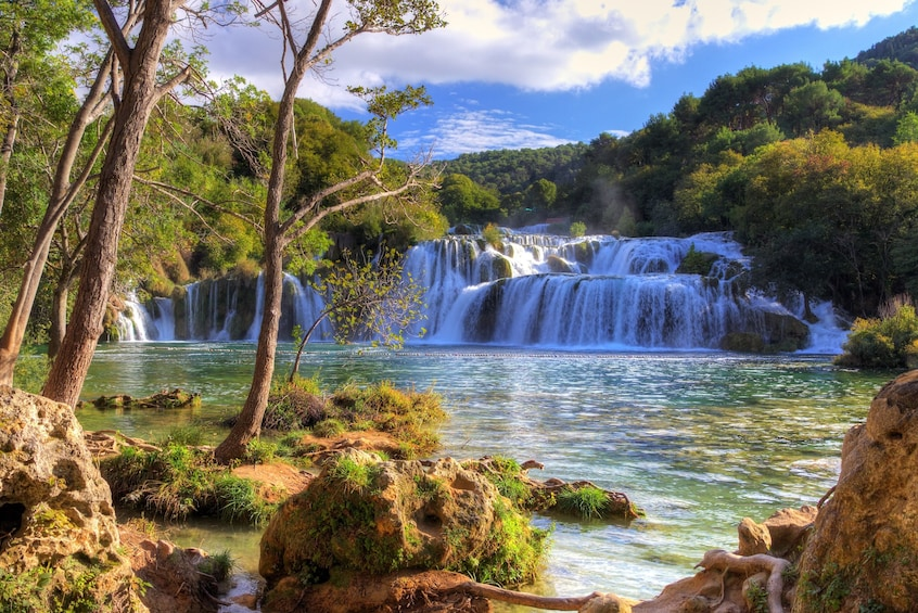 Krka Park & Sibenik Tour with entrance ticket from Split