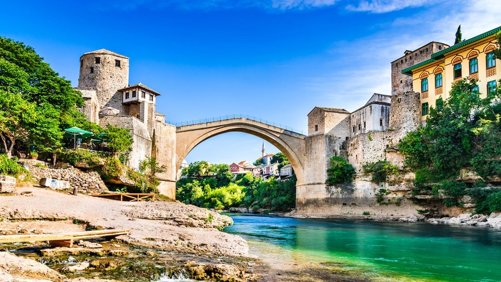 Mostar Tour with Entrance to Kravica Waterfall from Split