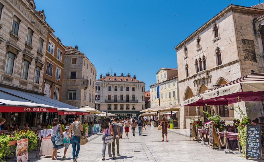 Split City Center Small Group Walking Tour