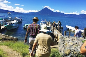 Lake Atitlán & Santiago Village with Boat Ride from Antigua