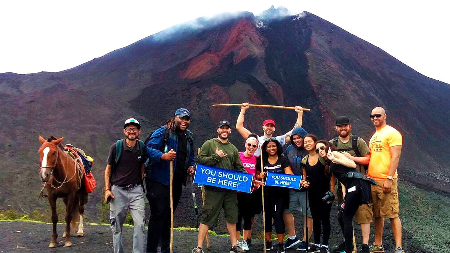 Pacaya Volcano and Hot Springs Tour from Antigua