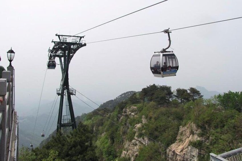 Show item 5 of 6. Mount Tai Private Tour from Qingdao by Bullet Train with Lunch and Cable Car