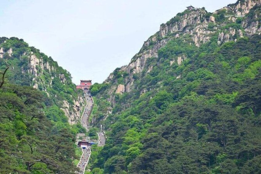 Show item 4 of 6. Mount Tai Private Tour from Qingdao by Bullet Train with Lunch and Cable Car